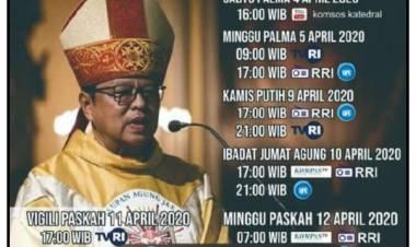 Misa Pekan Suci, Live dari Katedral Jakarta