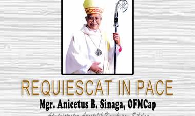 Selamat Jalan Mgr. Anicetus B Sinaga, OFM Cap,