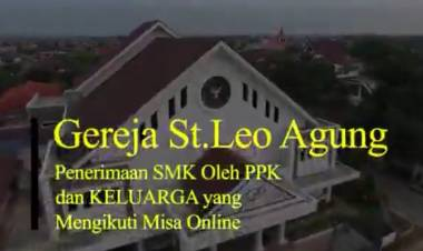 Tatalaksana Penerimaan SMK oleh PPK dan KELUARGA yang mengikuti MISA ONLINE