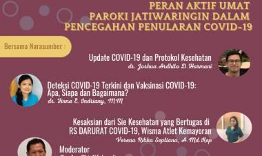 """""""Peran Aktif Umat Paroki Jatiwaringin Dalam Pencegahan Penularan Covid-19"""""""