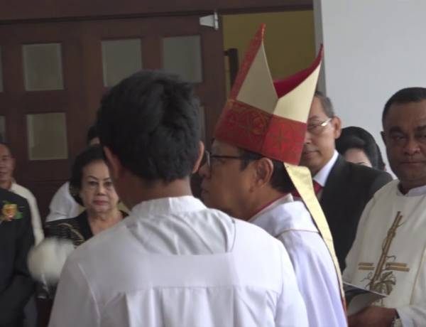 Pemberkatan Gereja Santo Leo Agung, Paroki Jatiwaringin