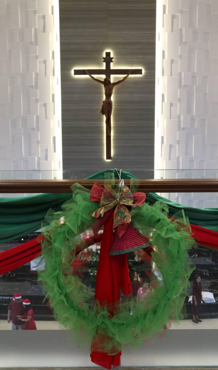Perayaan Misa Vigili Natal 24 Desember 2019