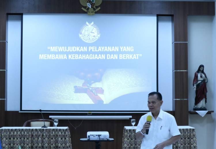 Rekoleksi Pembekalan Koordinator Wilayah,Pengurus dan Kader Lingkungan