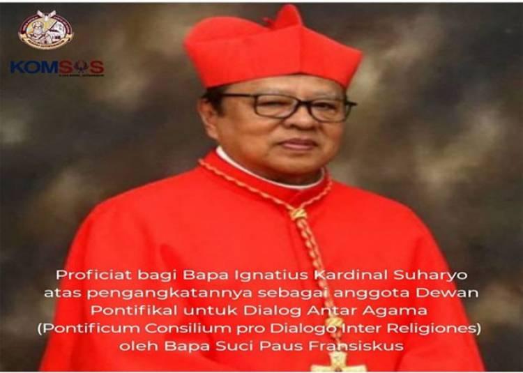 Proficiat bagi Bapa Ignatius Kardinal Suharyo