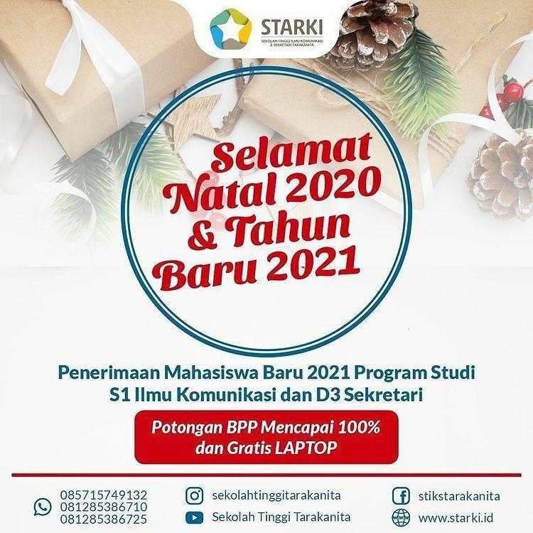 """""""Selamat Natal 2020 dan Tahun Baru 2021"""""""