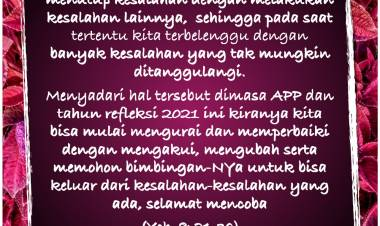 # 2021 - Tahun Refleksi